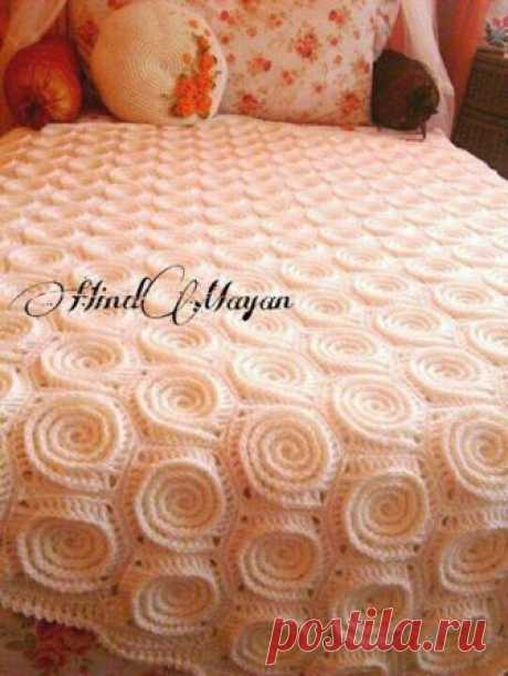 Шикарные одеяла и уроки вязания крючком