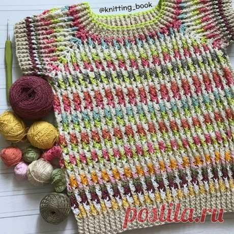 Идея от knitting_book Посмотрите какое чудо ! Так и хочется связать