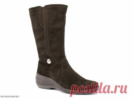 Сапоги женские Марко 3940, велюр - женская обувь, сапоги. Купить обувь Marko
