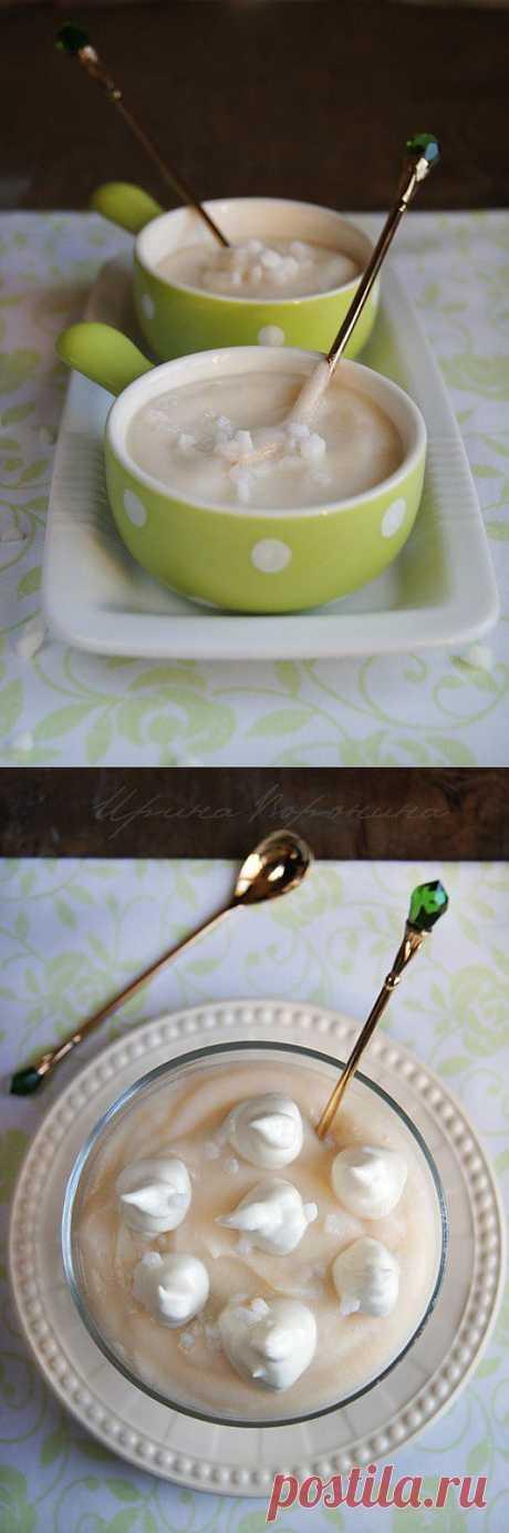 Заметки на кухонных занавесках - Яблочно-имбирный мусс