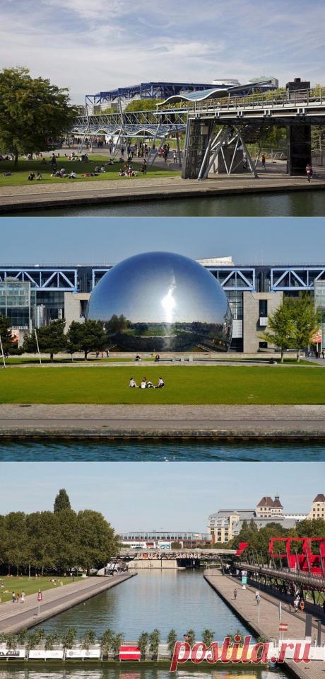 Парк Ла-Виллет в Париже / Туристический спутник