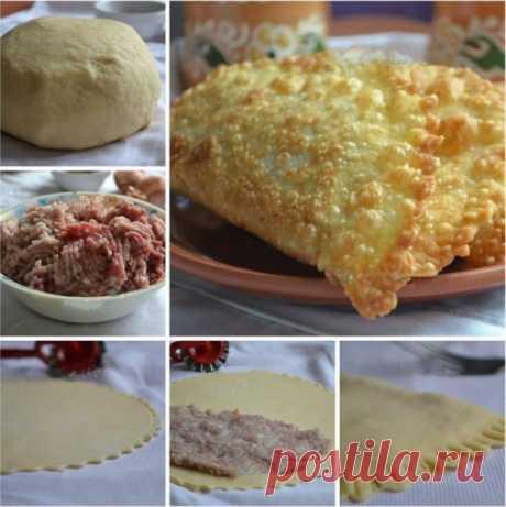 Como preparar las empanadillas sobre la pasta cocida. - la receta, los ingredientes y las fotografías