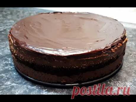 Торт ТРЮФЕЛЬНЫЙ Простой рецепт лучшего в мире шоколадного торта к чаю. ТРЮФЕЛЬ   Truffle Cake Recipe