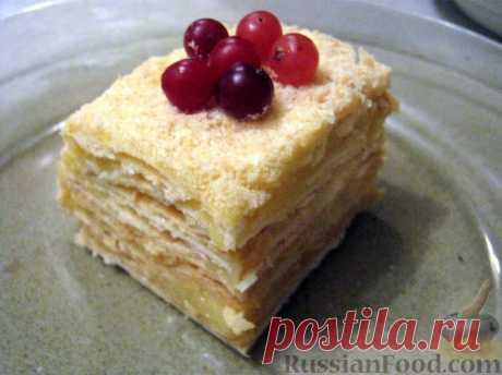Сметанный торт - Домашняя выпечка - медиаплатформа МирТесен