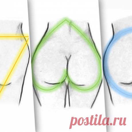4 вида женской попы и лучшие упражнения для каждой!