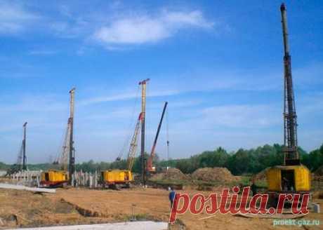 Виды свайных работ - Строительство - Каталог статей - Проектирование газоснабжения