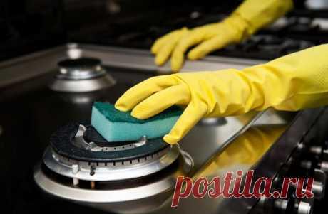 Чистота на кухне: быстрые способы отмыть плиту и решетку