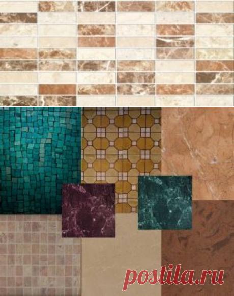 Характеристики керамической плитки для внутренней отделки стен
