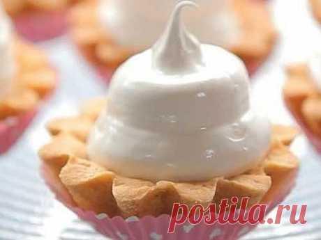Пирожное «Корзиночка» с белковым кремом. - Платформа лучших женских секретов.