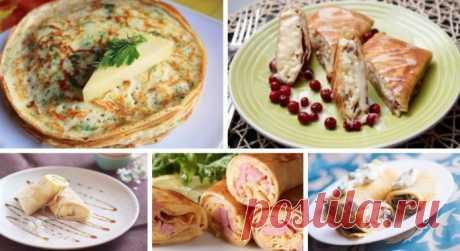 Мы собрали лучшие рецепты блинчиков: ТОП-5 самых вкусных блинов Теперь на Масленицу у меня будет куча классных блюд!