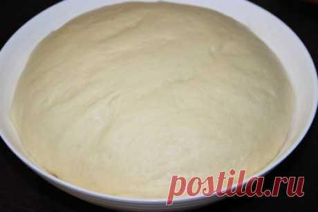 Дрожжевое тесто опарным способом - Сладкие пироги и кексы