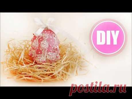 Идеи на Пасху. Яйцо из полимерной глины. Мастер класс.