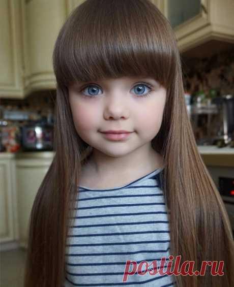 Как Куколка: 8 фото безумно красивой девочки » MAKATAKA