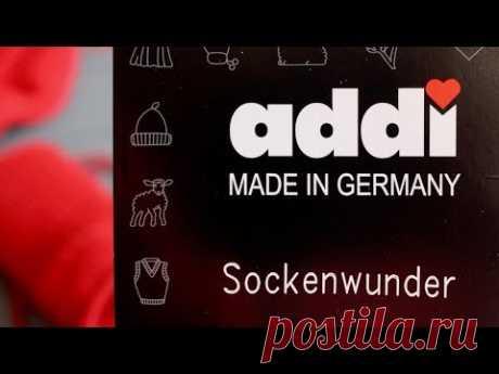 """КРУГОВЫЕ спицы ADDI """"Чудо носки"""". Addi Sockenwunder"""