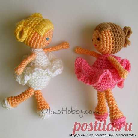 Вязаная куколка...