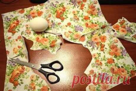 Декупаж - отличная идея для украшения яиц!  #ЗМ_рукоделие
