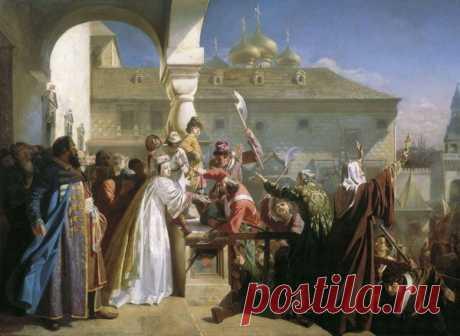 Стрелецкий бунт в Москве Во второй половине 17 века, во время царствования Федора Алексеевича, недовольство московских стрельцов все больше назревало – казна была пуста, жалование им выплачивалось нерегулярно, старшие командиры стрелецкого войска часто злоупотребляли своим положением.В мае 1682 года царь Федор...