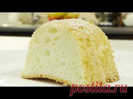 Бисквит на белках видео рецепт - YouTube