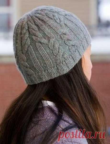 Вязание шапки Beanie Hat - В петле Вязание