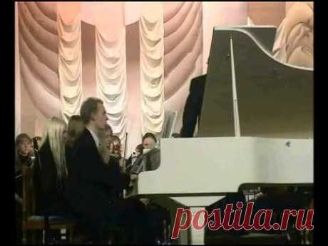 Second Concerto for piano and orchestra in 3 movements by composer Vladimir Sidorov (opus 100, 2004). 3. Allegro. Symphony Orchestra of Magnitogorsk conservatoire under Renat Jiganshin, soloist Vasiliy Karpov (piano). 2006