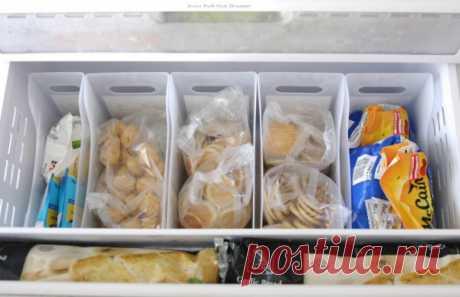 10 способов раз и навсегда навести порядок в холодильнике... Всё по полочкам!
