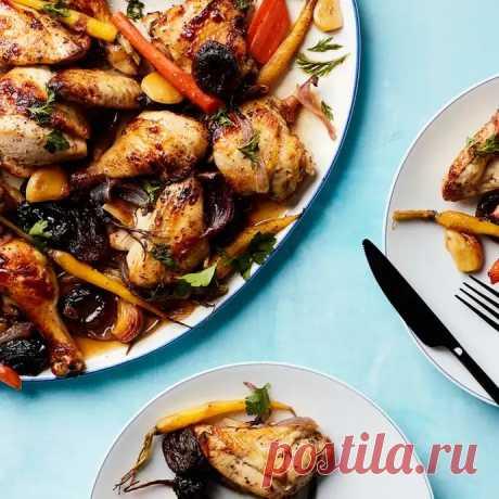 Курица с абрикосами, черносливом и морковью | Веб-клиент Evernote