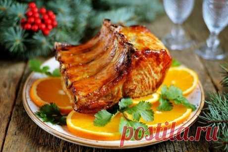 Новогодний стол 2020: сочная свинина с апельсинами | Кулинарные записки обо всём | Яндекс Дзен