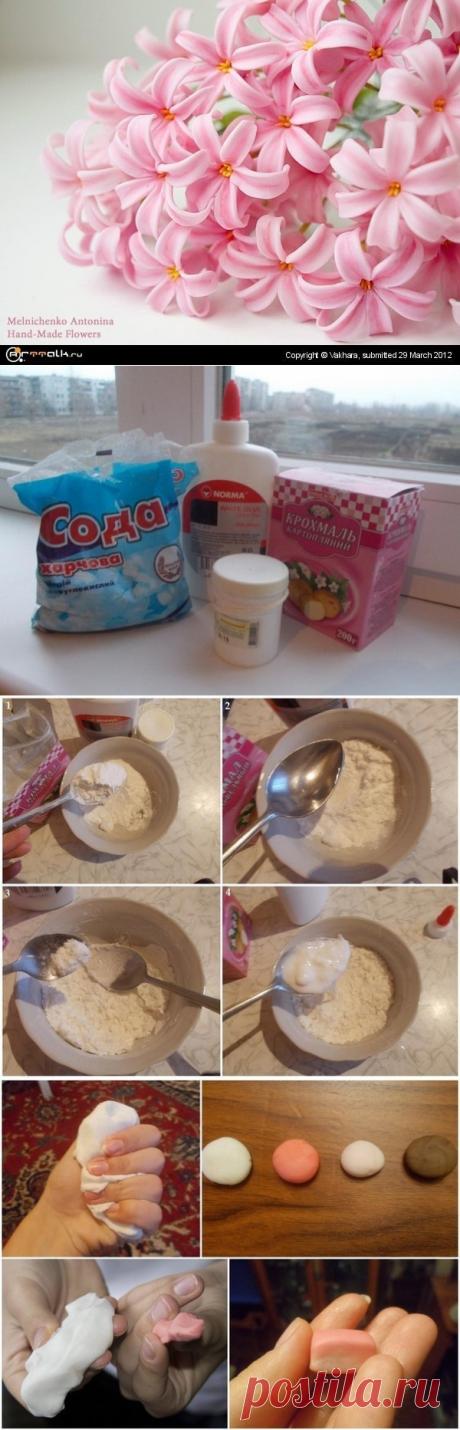 Рецепт холодного фарфора.