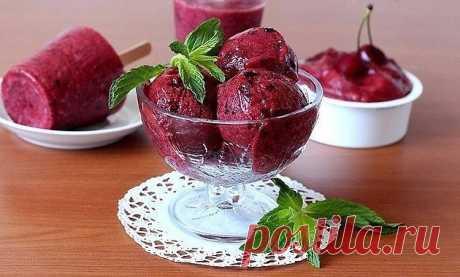 Кладезь витаминов: домашнее фруктовое мороженное..