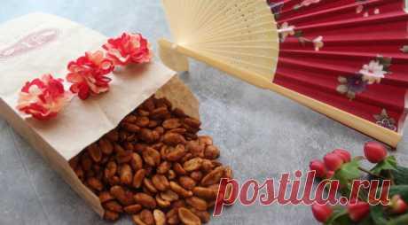 Жареный арахис с чесноком, пошаговый рецепт с фото