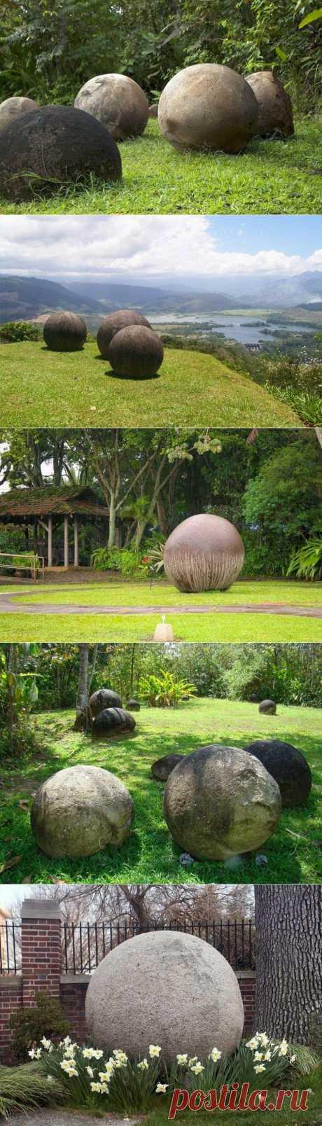Загадка валунов Коста-Рики / Туристический спутник