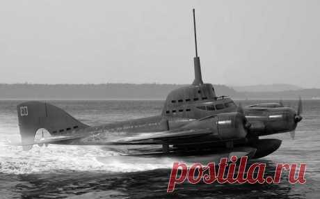 В наши дни словосочетание летающая подводная лодка звучит довольно странно, но в 1930-е годы военные всего мира буквально грезили появлением подобного аппарата.