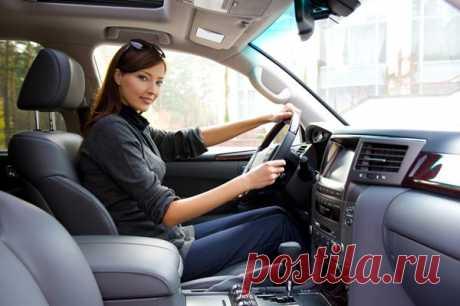 Полезные привычки для женщин за рулем | Гармония Жизни