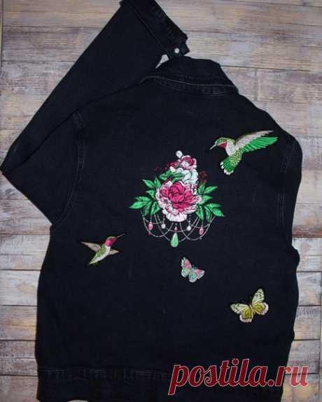 Свежая, сочная и весенняя получилась джинсовка для Анастасии Верезубовой , размер цветка, который украшает спину 17*17 см, цена 900 рублей. #фотофон 900 р #alenavoronkova88 #заказ #оформление #доставкапороссии #хэндмэйд #Embroidery #machinecomputerembroidery #именнаявышивка #челябинск #brother #вналичие #красота #handmade #ручнаяработа #креатив #мамавдекрете #фото #апрель #весна #россия #хобби #фетр #проект #стартап #startup #нашивка #бабочка #пион #джинсовка #круто #лайки...