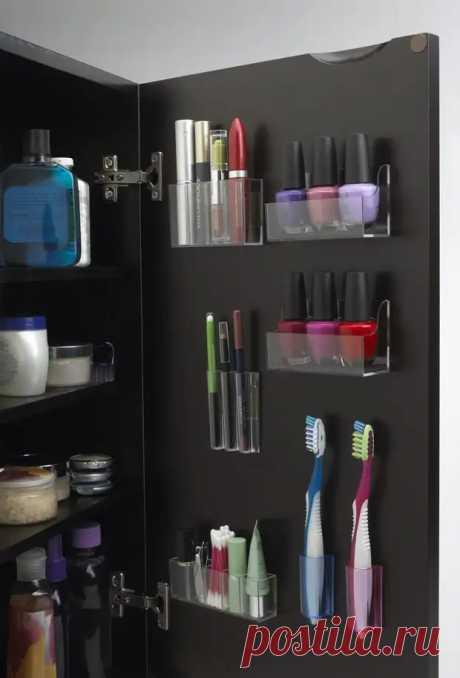 Отличные идеи для хранения вещей в ванной - Сделай сам - медиаплатформа МирТесен