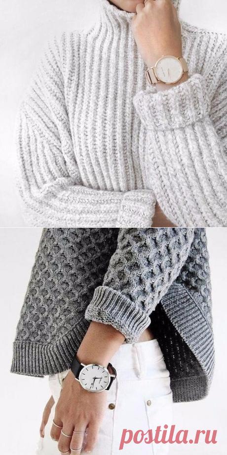 Осень своими руками: вяжем свитер