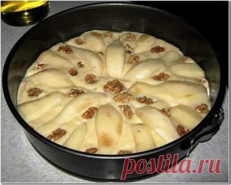Вкуснейший грушевый пирог к вечернему чаю - Простые рецепты Овкусе.ру