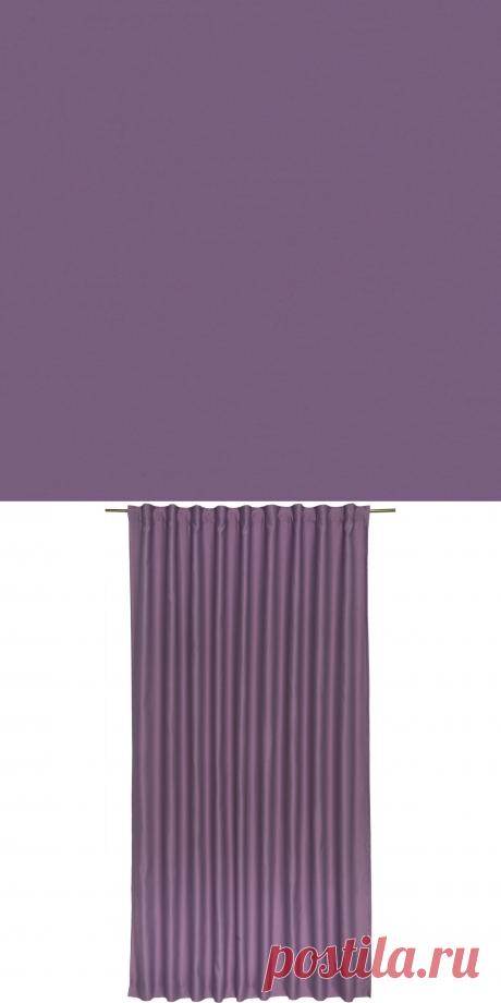 Штора на ленте «Ночь» 200х280 см цвет фиолетовый в Москве – купить по низкой цене в интернет-магазине Леруа Мерлен