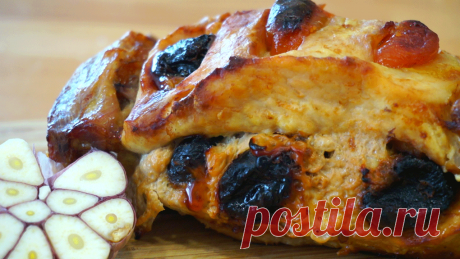 Запеченная свиная шея с черносливом супер вкусный рецепт к любому празднику!