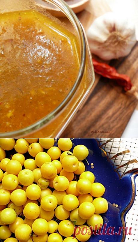 Соус из желтого или красного ткемали — Cook-Talk