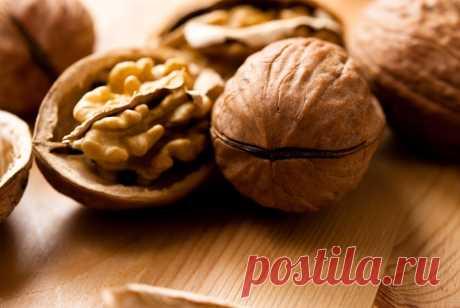 Перегодки грецких орехов — лучшее лекарство для щитовидки.