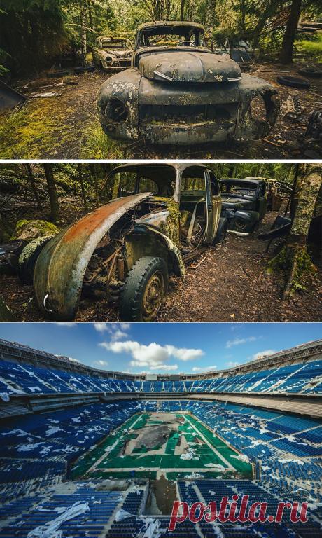 Заброшенное и грустное: Вам понравятся эти фотографии и истории, которые за ними стоят. Фотограф Александр Сухарев | Фотоискусство