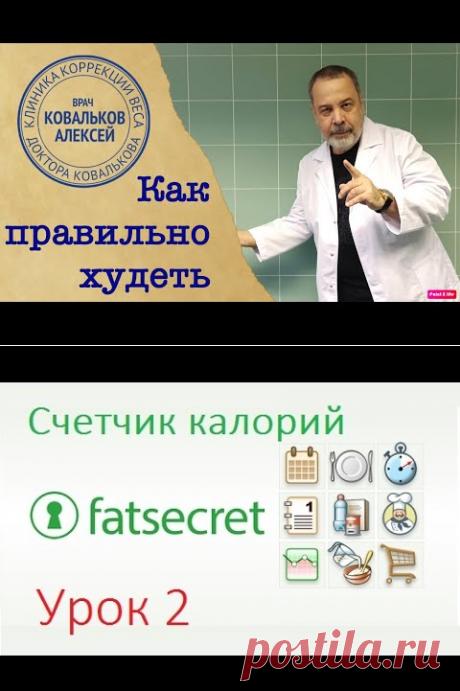 (8069) FatSecret Урок 2 - YouTube