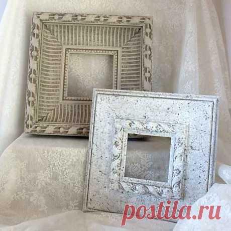 Рамки из гипсовых потолочных плинтусов своими руками — DIYIdeas