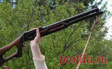 В Канаде это ружьё прозвали «русское медвежье»   Sovetчик   Яндекс Дзен