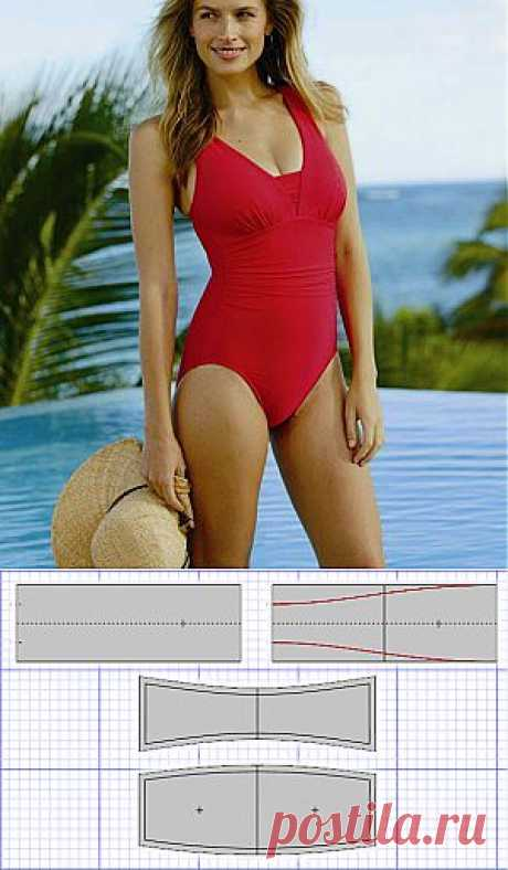 How to sew a bathing suit the hands: photoinstruction | Ladies venue