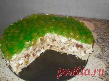 Вкусный торт без выпечки | Школа шеф-повара