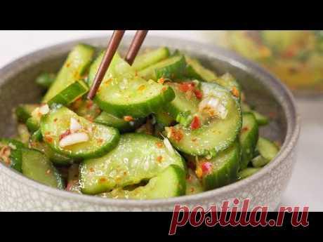 Кимчи из огурцов по-корейски. Рецепт от Всегда Вкусно!