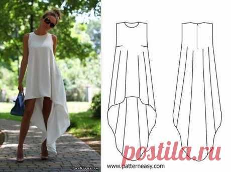 Лёгкое летящее платье своими руками: моделирование наряда ...