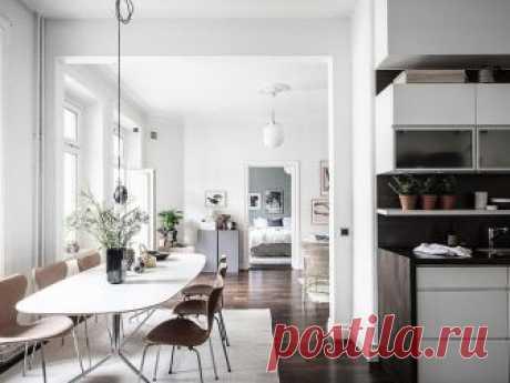 Легкий и приятный: скандинавский интерьер, как мы любим (62 кв. м) Не перестаем восхищаться скандинавским дизайном. Та легкость и чувство стиля, с которыми шведские дизайнеры создают своим интерьеры без больших бюджетов, не может не восхищать.Эта двухкомнатная кварт...